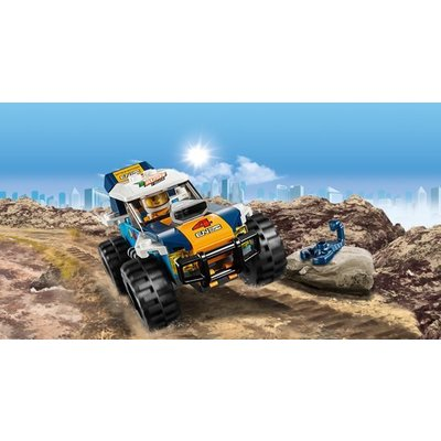 Lego Lego City Woestijnrally Wagen 60218