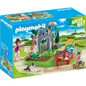 Playmobil City Life Familiespeeltuin SuperSet 70010