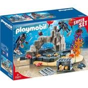 Playmobil Playmobil City Action Politie SIE Onderwatermissie SuperSet 70011