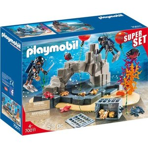 Playmobil City Action Politie SIE Onderwatermissie SuperSet 70011