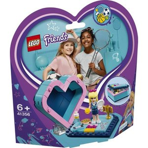 Lego Friends Stephanie's Hartvormige Doos 41356