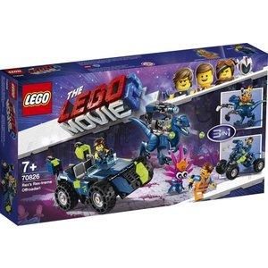 Lego The Movie 2 Rex's Rextreme Offroader 70826