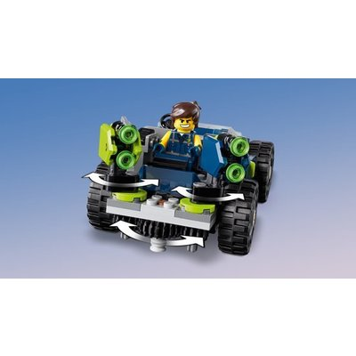 Lego Lego The Movie 2 Rex's Rextreme Offroader 70826