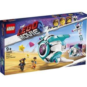 Lego The Movie Lieve Chaos' Systar Ruimteschip 70830