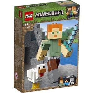 Lego Minecraft BigFig Alex met Kip 21149