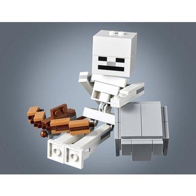 Lego Lego Minecraft BigFig Skelet met Magmakubus 21150