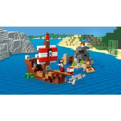 Lego Lego Minecraft Avontuur op het Piratenschip 21152