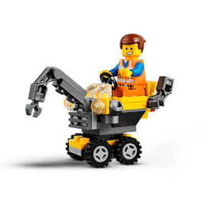 Lego Lego The Movie 2 Mini Meester-bouwer Emmet (Polybag) 30529