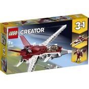 Lego Lego Creator Futuristisch Vliegtuig 31086