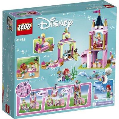 Lego Lego Disney Ariel, Aurora en Tiana's Koninklijke Viering 41162