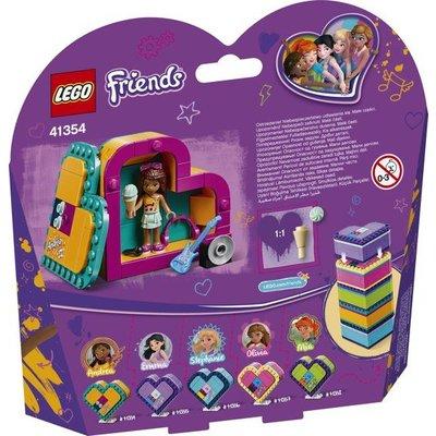 Lego Lego Friends Andrea's Hartvormige Doos 41354