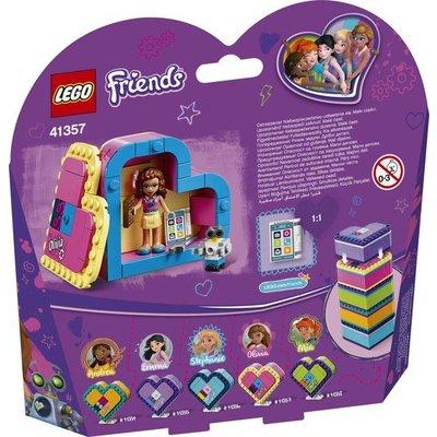 Lego Lego Friends Olivia's Hartvormige Doos 41357