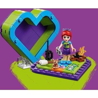 Lego Lego Friends Mia's Hartvormige Doos 41358