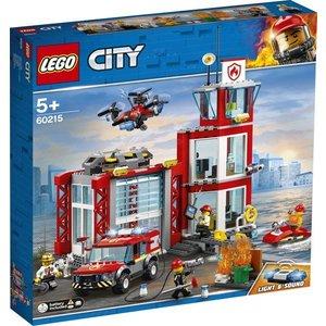 Lego City Brandweerkazerne 60215