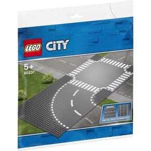 Lego City Bocht en Kruising 60237