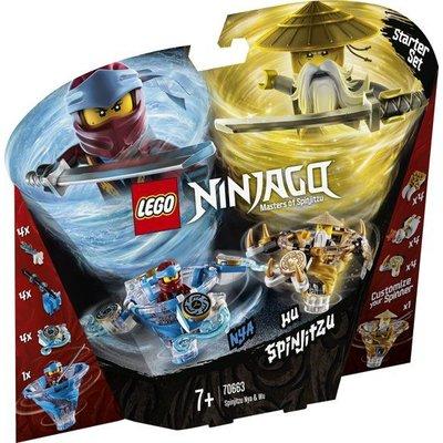 Lego Lego Ninjago Spinjitzu Nya en Wu 70663
