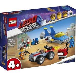 Lego The Movie 2 4+ Emmet en Benny's Bouw en Reparatie werkplaats 70821