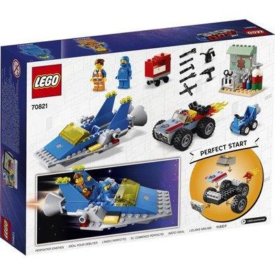 Lego Lego The Movie 2 4+ Emmet en Benny's Bouw en Reparatie werkplaats 70821