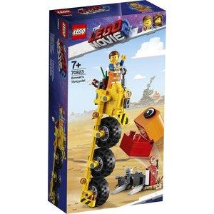 Lego The Movie 2 Emmet's Driewieler 70823