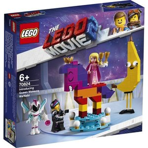 Lego The Movie 2 Maak Kennis met Koningin Wiedanook Watdanook 70824