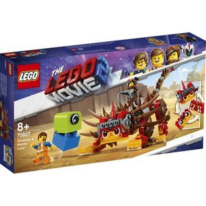 Lego The Movie 2 Unikitty en Strijdster Lucy 70827