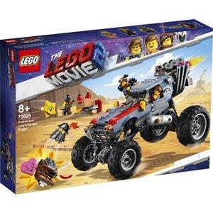 Lego The Movie 2 Emmet en Lucy's Vluchtbuggy 70829