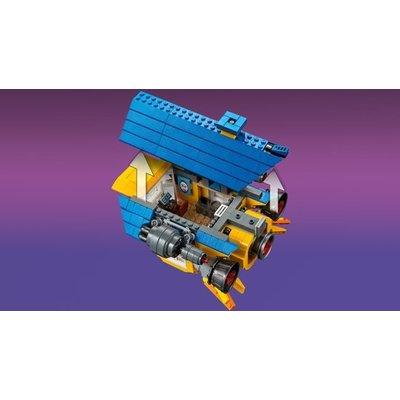 Lego Lego The Movie 2 Emmet's Droomhuis & Reddingsraket 70831