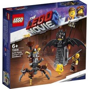 Lego The Movie 2 Gevechtsklare Batman en Metaalbaard 70836