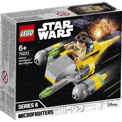 Lego Lego Star Wars Naboo Starfighter Microfighter 75223
