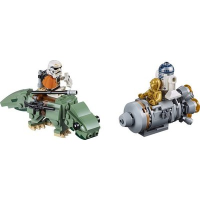 Lego Lego Star Wars Escape Pod vs Dewback Microfighter 75228