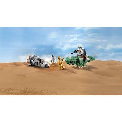 Lego Lego Star Wars Escape Pod vs Dewback Microfighter 75228