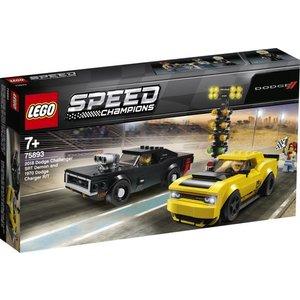 Lego Speed Champions Dodge Challenger en Dodge Charger 75893