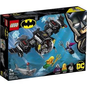 Lego Super Heroes Batduikboot en het Onderwatergevecht 76115