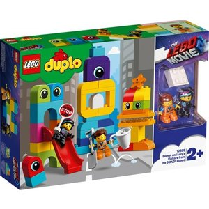 Lego Duplo The Movie 2 Visite voor Emmet en Lucy 10895