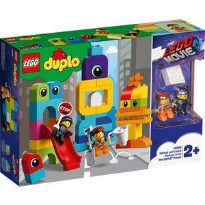 Lego Duplo The Movie 2 Visite voor Emmet en Lucy 10895