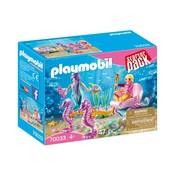 Playmobil Playmobil Starterpack Koets met Zeepaardjes 70033
