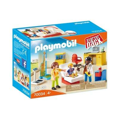 Playmobil Playmobil Starterpack Bij de Kinderarts 70034