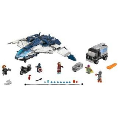 Lego Lego Super Heroes Avengers Quinjet Chase 76032