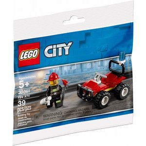 Lego City Brandweer ATV (Polybag) 30361