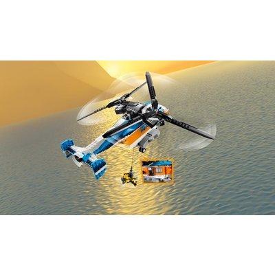 Lego Creator Dubbel Rotor Helikopter 31096