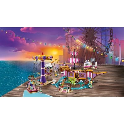Lego Lego Friends Heartlake City Pier met Kermisattracties 41375