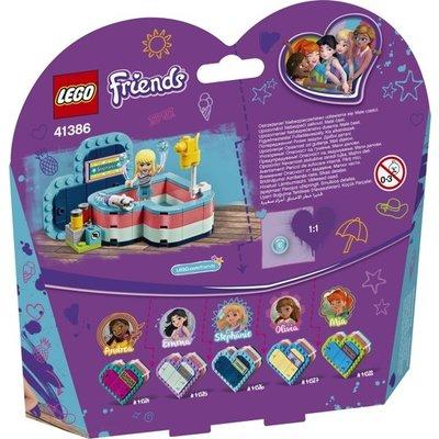 Lego Lego Friends Stephanie's Hartvormige Zomerdoos 41386