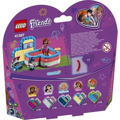 Lego Lego Friends Olivia's Hartvormige Zomerdoos 41387