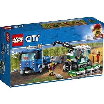 Lego Lego City Maaidorser Transport 60223