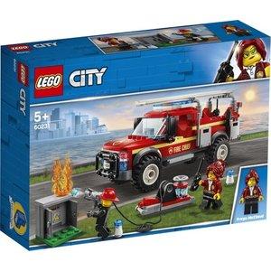 Lego City Reddingswagen van de Brandweercommandant 60231