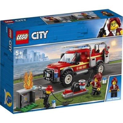 Lego Lego City Reddingswagen van de Brandweercommandant 60231