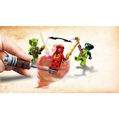 Lego Lego Ninjago Zwaardmoter Kai en Sneeuwscooter Zane 70667