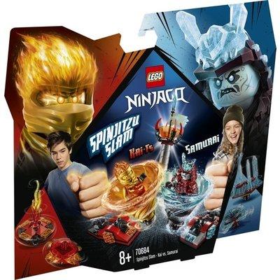 Lego Lego Ninjago Kai vs Samurai Spinjitzu Slam 70684