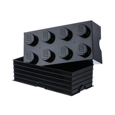 Lego Lego Opbergsysteem Brick 8 Noppen Zwart 700130