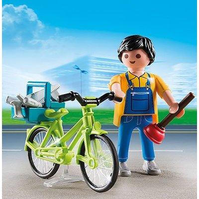 Playmobil Playmobil Special Plus Klusjesman met Fiets 4791